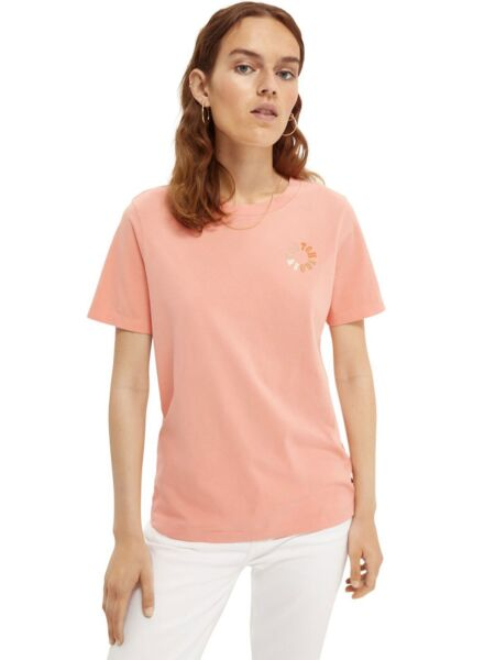 Scotch&Soda - Roze ženska majica