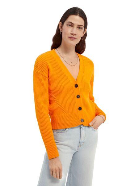 Scotch&Soda - Narandžasti ženski džemper