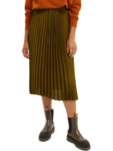 Scotch&Soda - Midi suknja sa falticama