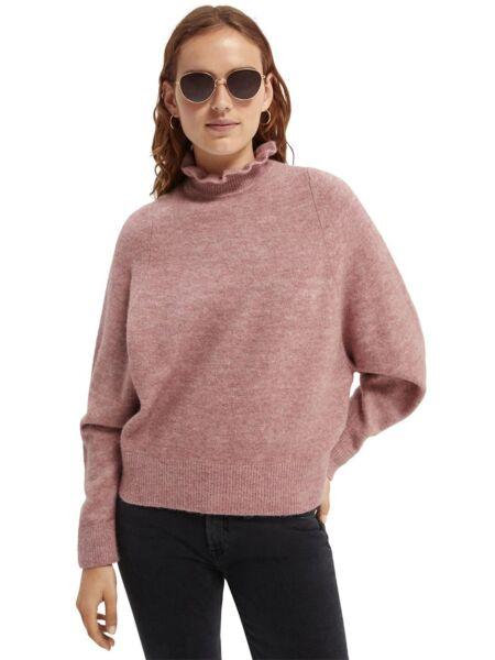 Scotch&Soda - Pink ženski džemper