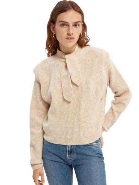 Scotch&Soda - Ženski džemper sa mašnom