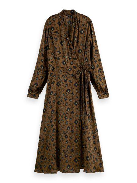 Scotch&Soda - Cvjetna midi haljina
