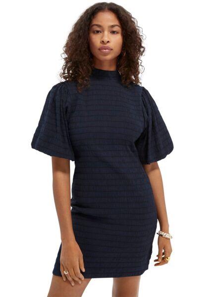 Scotch&Soda - Mini haljina sa sitnim naborima