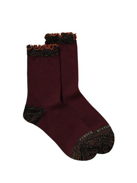 Scotch&Soda - Bordo ženske čarape