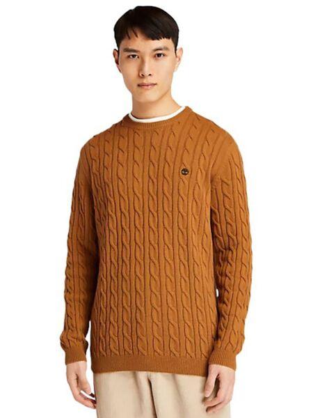 Timberland - Braon muški džemper