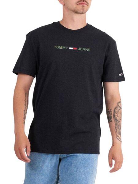 Tommy Hilfiger - Crna muška majica