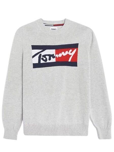 Tommy Hilfiger - Muški logo džemper