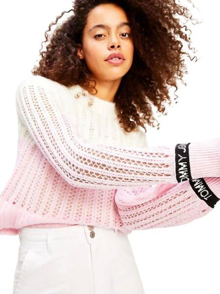 Baby roza ženski džemper - Tommy Hilfiger