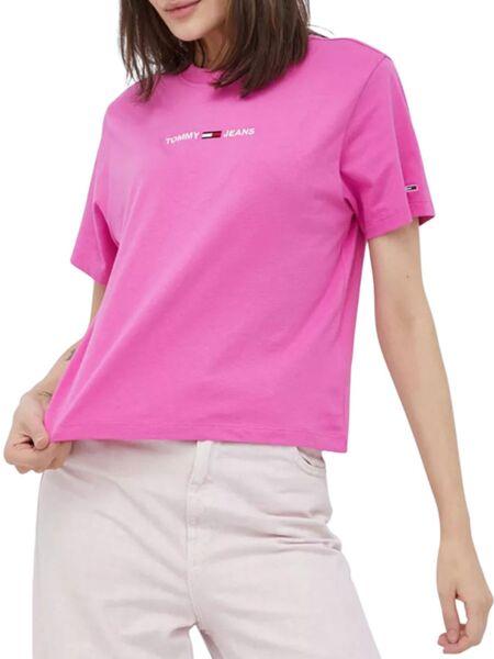 Tommy Hilfiger - Pink ženska majica