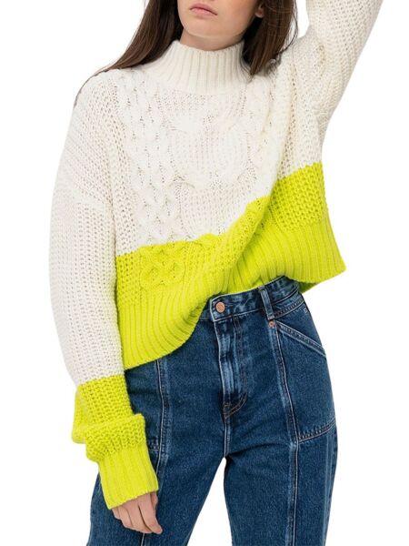 Tommy Hilfiger - Color-block ženski džemper