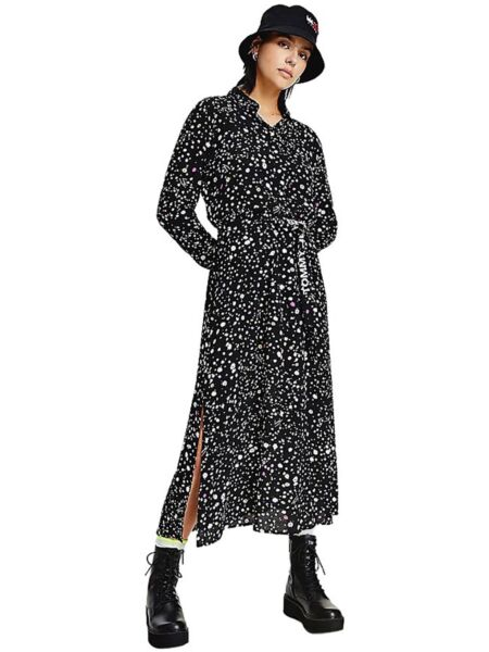 Tommy Hilfiger - Cvjetna midi haljina