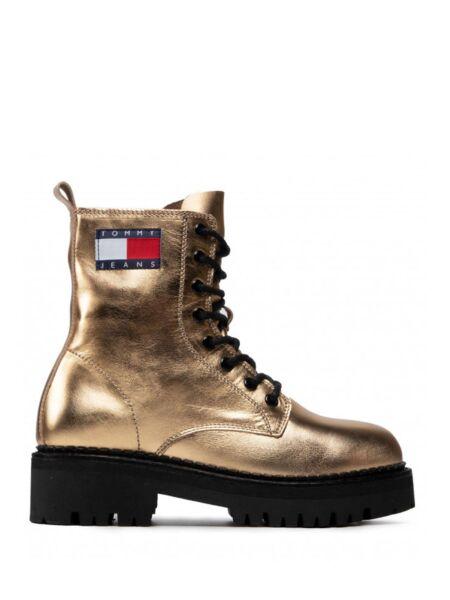 Tommy Hilfiger - Zlatne ženske čizme