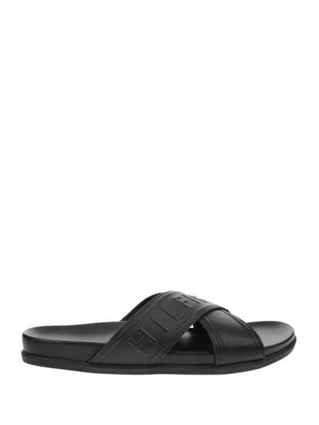 Tommy Hilfiger - Kožne muške papuče