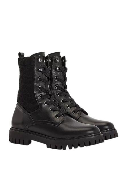 Tommy Hilfiger - Crne ženske čizme