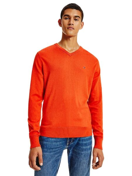 Tommy Hilfiger - Narandžasti muški džemper