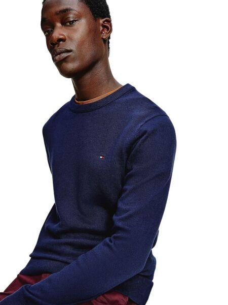 Tommy Hilfiger - Tamnoplavi muški džemper