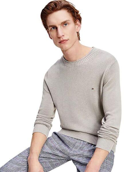 Sivi muški džemper - Tommy Hilfiger