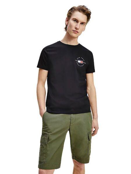 Crna muška majica -  Tommy Hilfiger
