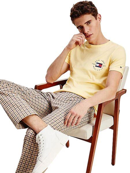 Žuta muška majica -  Tommy Hilfiger