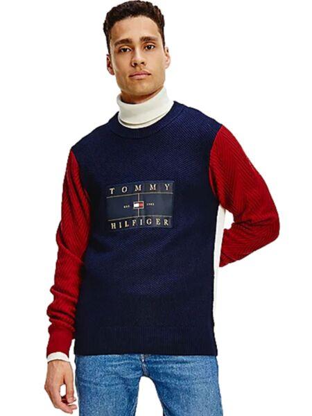 Tommy Hilfiger - Kolor-blok muški džemper