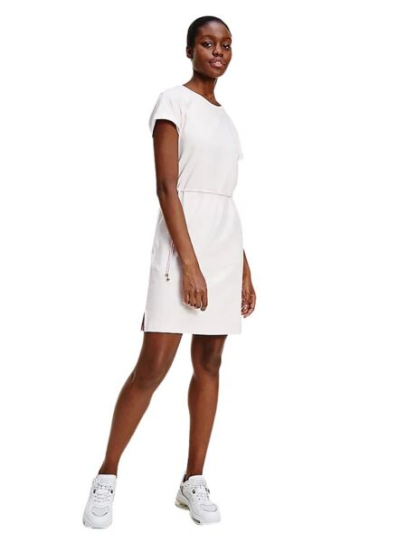 Bijela haljina sa učkurom - Tommy Hilfiger