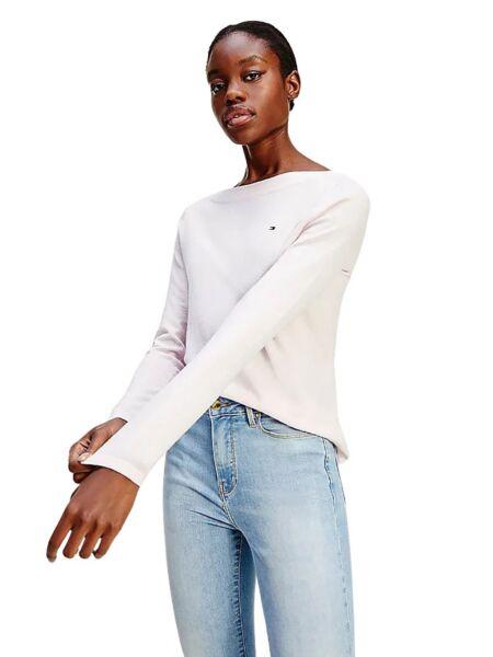 Ženski džemper sa širokim izrezom - Tommy Hilfiger