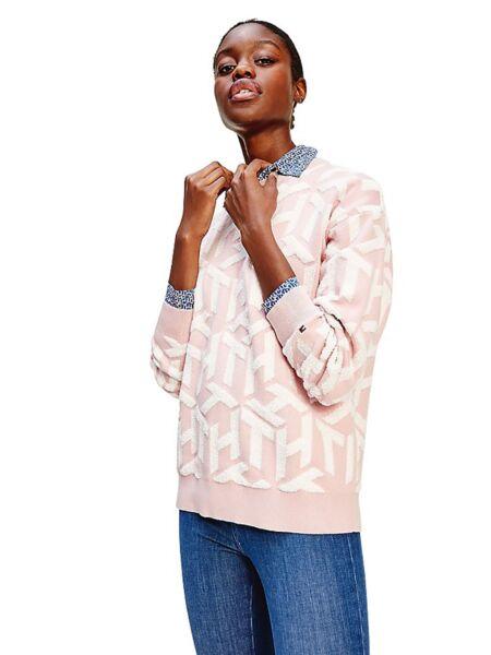 Ženski monogram džemper - Tommy Hilfiger