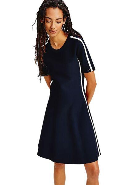 Lepršava kolor-blok haljina - Tommy Hilfiger