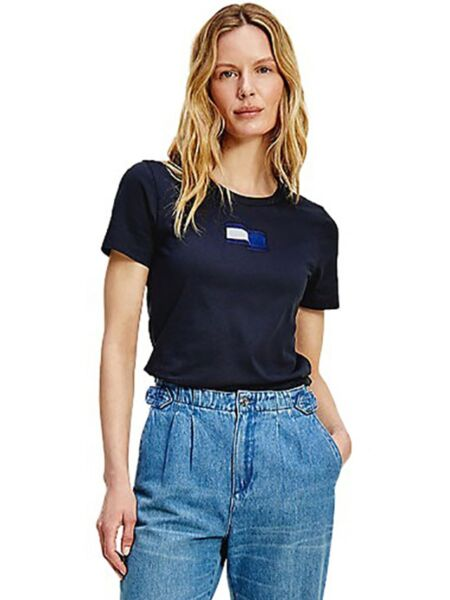 Tommy Hilfiger - Tamnoplava ženska majica