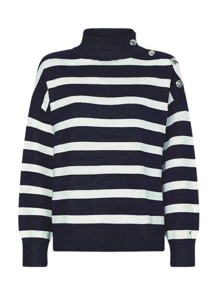 Tommy Hilfiger - Prugasti ženski džemper