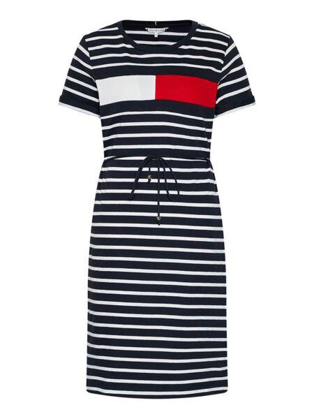 Prugasta logo haljina - Tommy Hilfiger