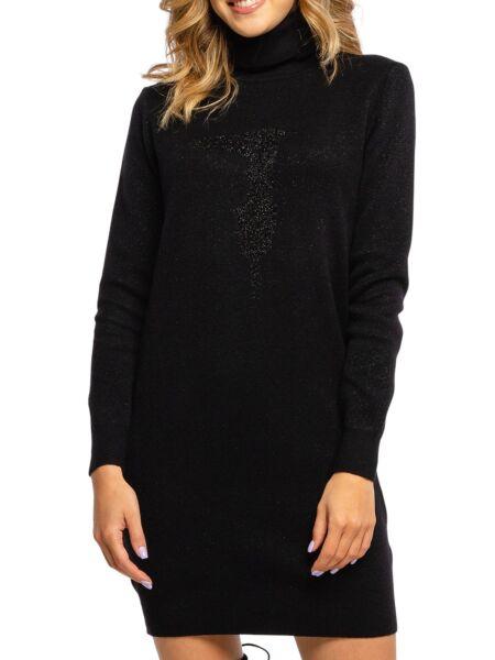 Trussardi - Crna mini haljina