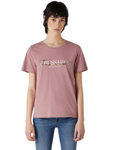 Trussardi - Logo print ženska majica