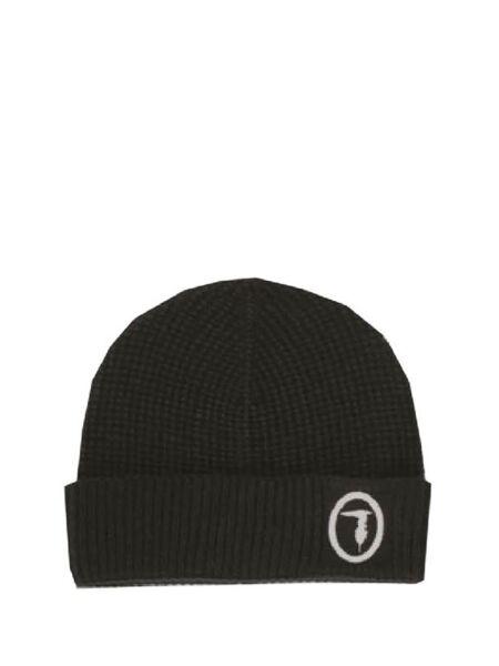 Trussardi - Crna muška kapa