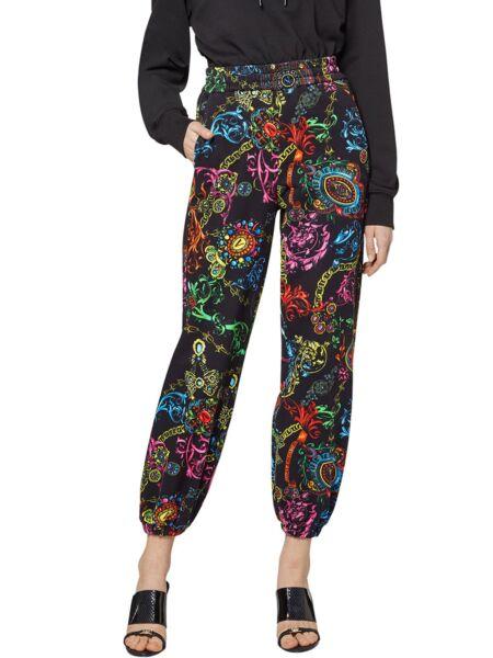 Versace Jeans Couture - Ženske pantalone sa printo
