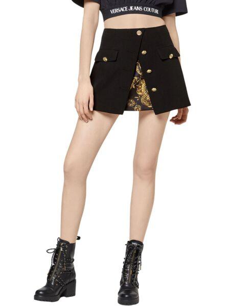 Versace Jeans Couture - Mini suknja sa dugmadima