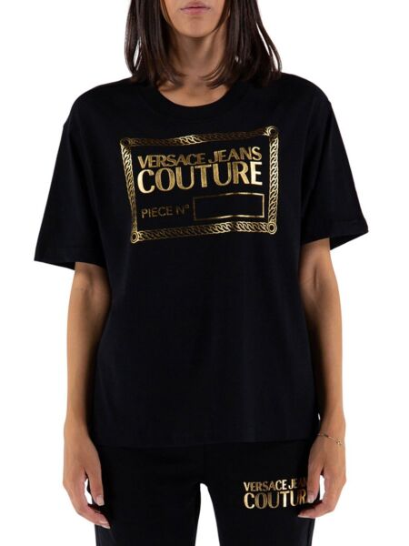 Versace Jeans Couture - Crna ženska majica