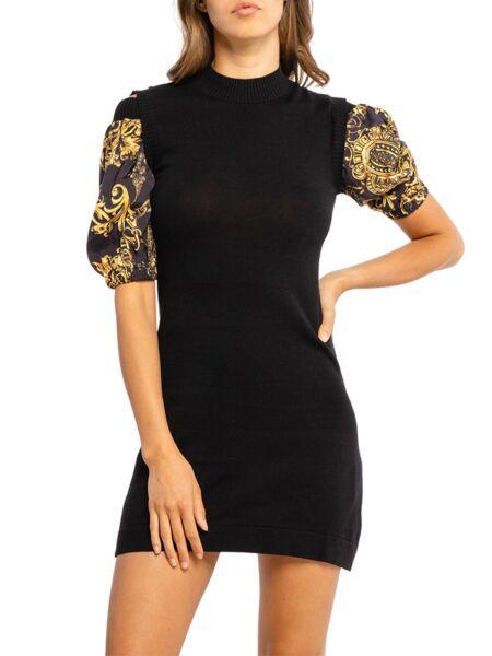 Versace Jeans Couture - Crna mini haljina