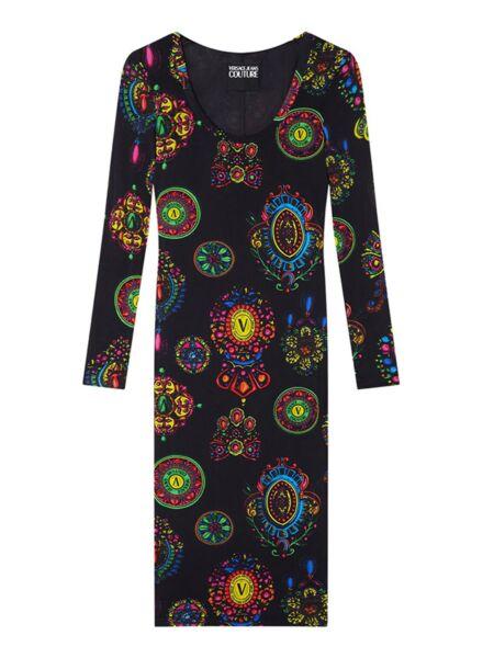 Versace Jeans Couture - Uska midi haljina