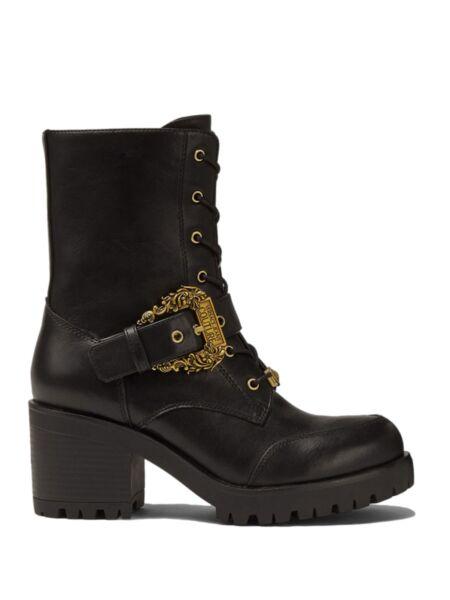 Versace Jeans Couture - Crne ženske čizme