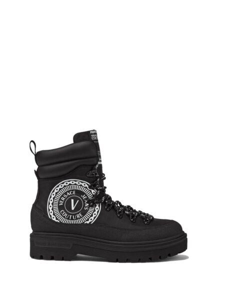 Versace Jeans Couture - Crne muške čizme