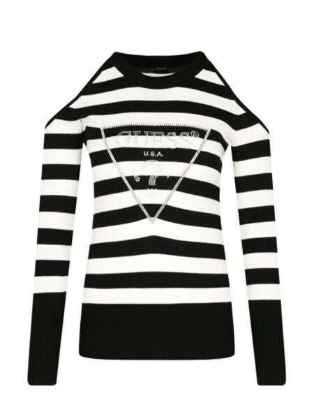 Prugasti ženski džemper - Guess
