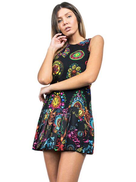 Versace Jeans Couture - Mini haljina sa printom