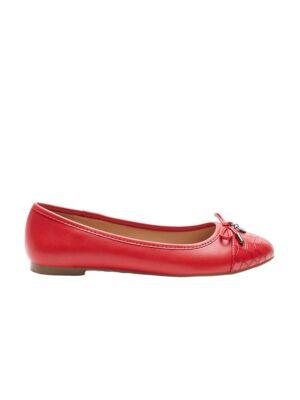 Crvene ženske baletanke - Bata