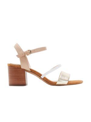 Zlatne sandale sa potpeticom - Bata