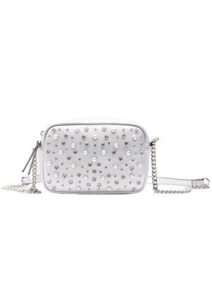 Srebrna ženska torbica - Bata