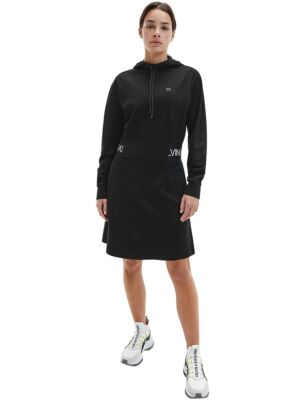 Crna duks-haljina - Calvin Klein