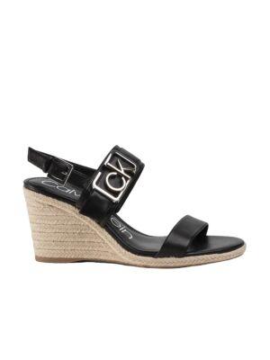 Crne sandale sa platformom - Calvin Klein