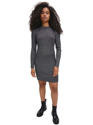 Svjetlucava srebrna haljina - Calvin Klein