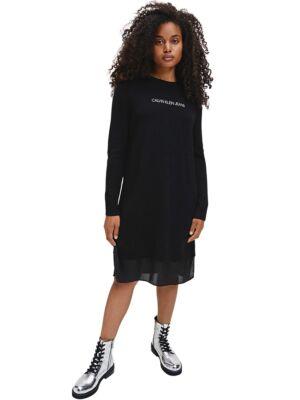 Crna džemper-haljina - Calvin Klein